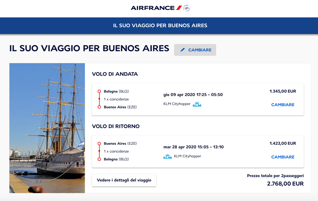 buenos aires business air france