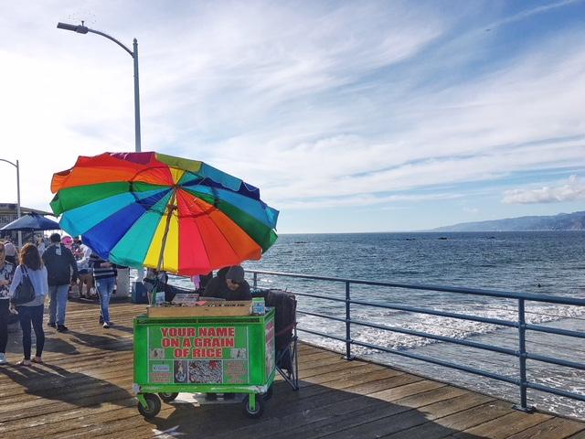 Ombrelloni Santa Monica Pier