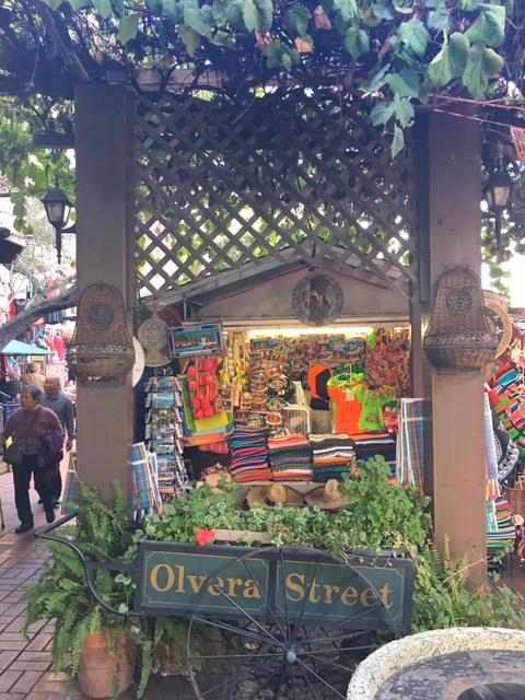 Calle Olvera Pueblo LA