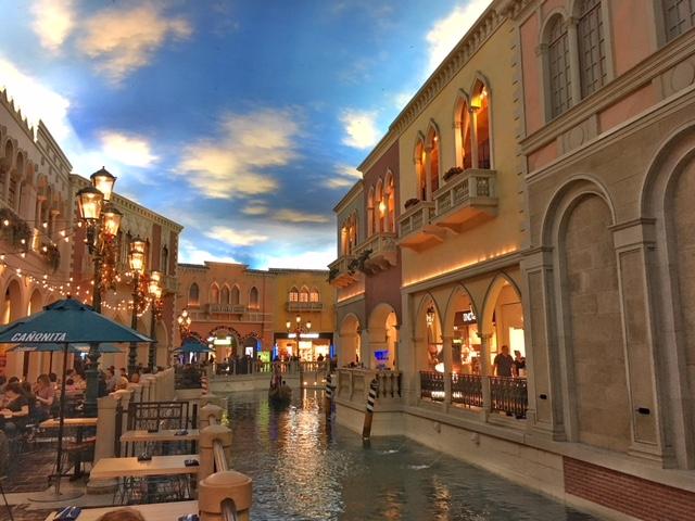 Canali Hotel Venetian Las Vegas