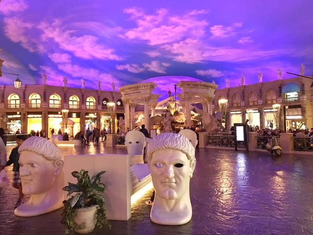 Riproduzione antica Roma Caesars Palace