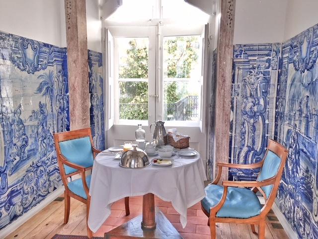 Saletta colazione suite Amadeo de Souza Cardoso Palacio Belmonte