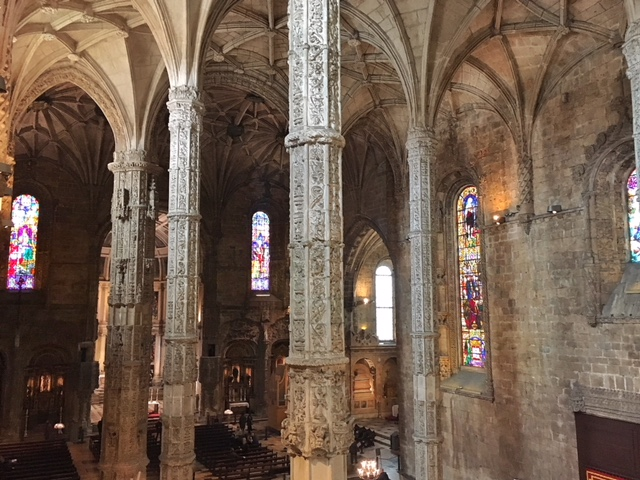 Interno chiesa Monastero do Jeronimos