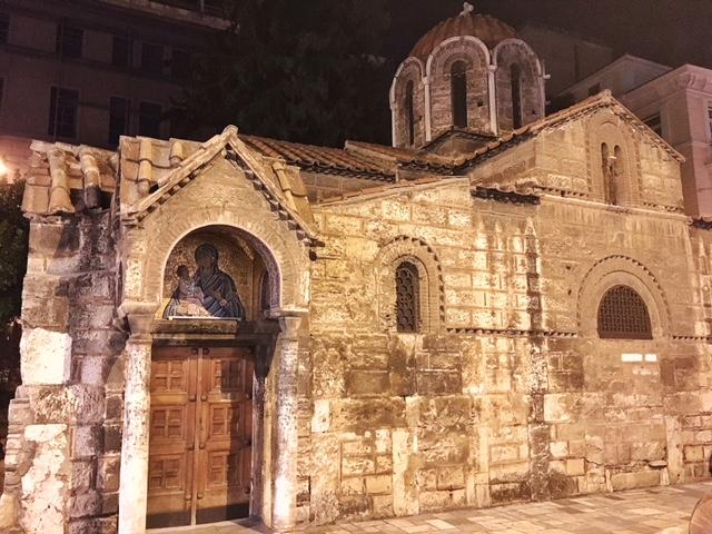 Chiesa Kapnikarea Atene