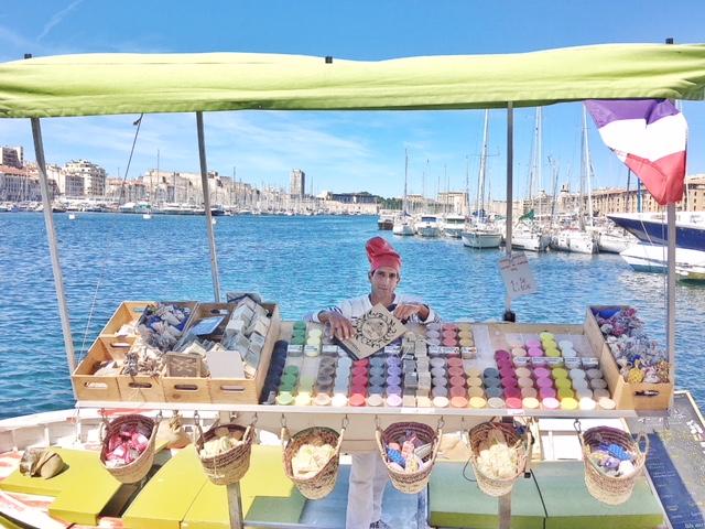 Mercato saponi Marsiglia Porto Vecchio