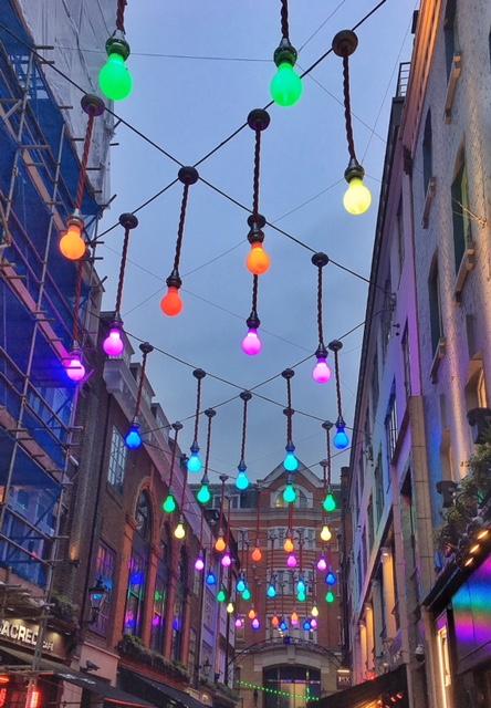 Luci Carnaby Street Londra