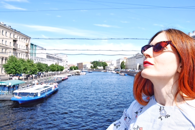 San Pietroburgo giugno fiume Neva