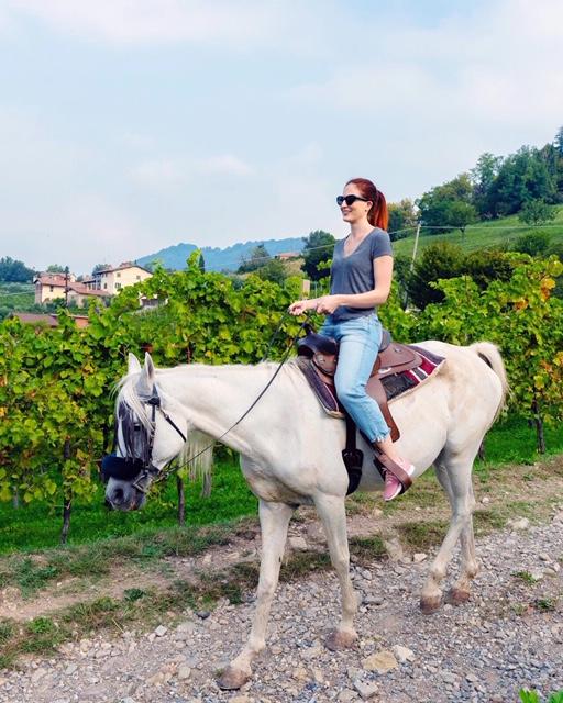 Passeggiata a cavallo nelle Terre del Vescovado Bergamo