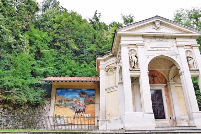Affresco Guttuso cappella Sacro Monte Varese