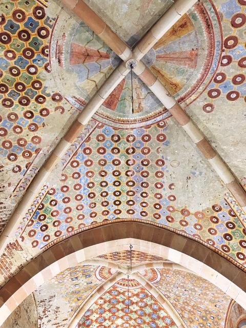 Rocca di Angera affreschi interni