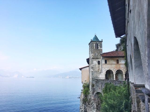 Eremo di Santa Caterina del Sasso Lago Maggiore