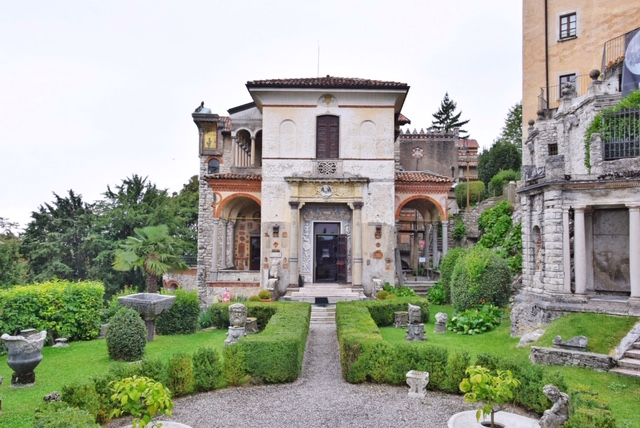 Esterno casa-museo Lodovico Pogliaghi
