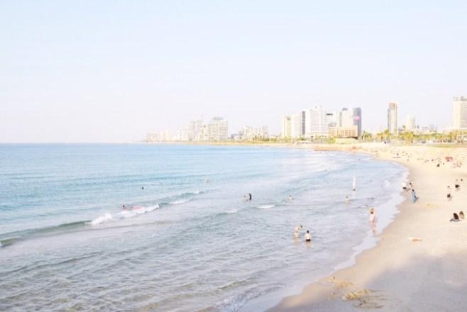 La spiaggia di Tel Aviv