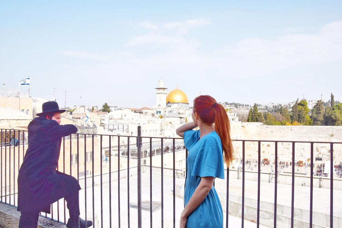 Vista sulla Cupola della Roccia dal Quartiere Ebraico