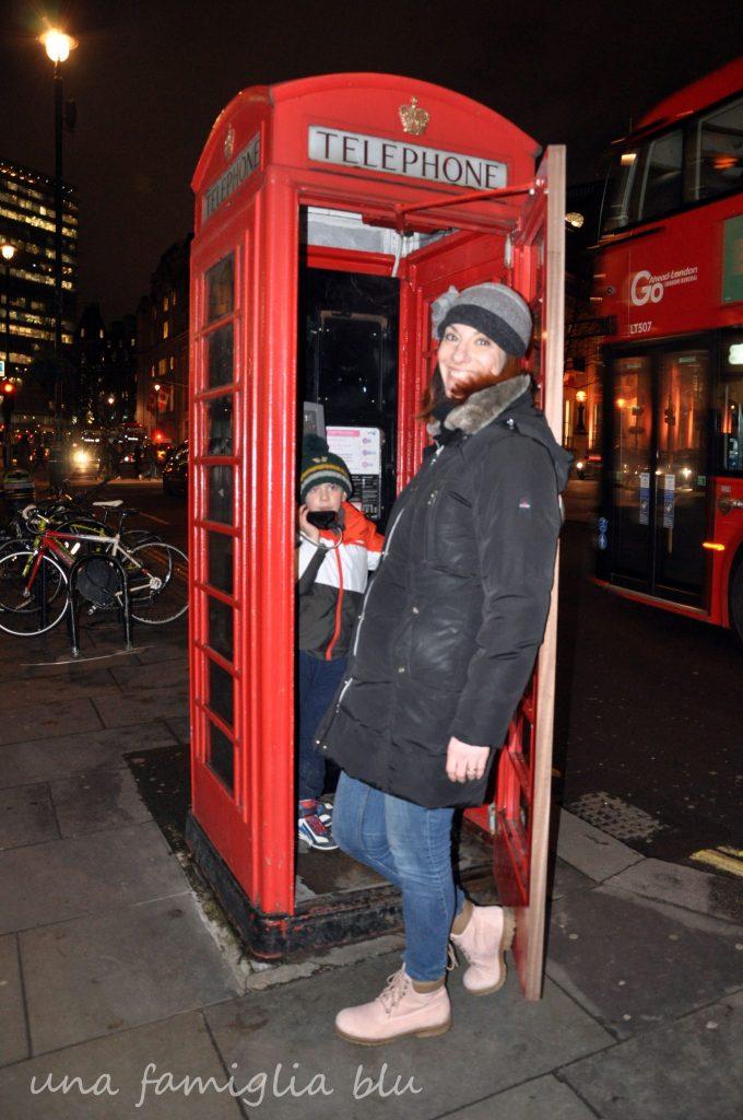 cabina del telefono londra
