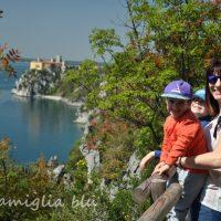Sentiero Rilke coi bambini, una passeggiata sul Golfo di Trieste