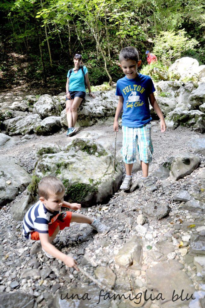 cascata Kozjac in Slovenia