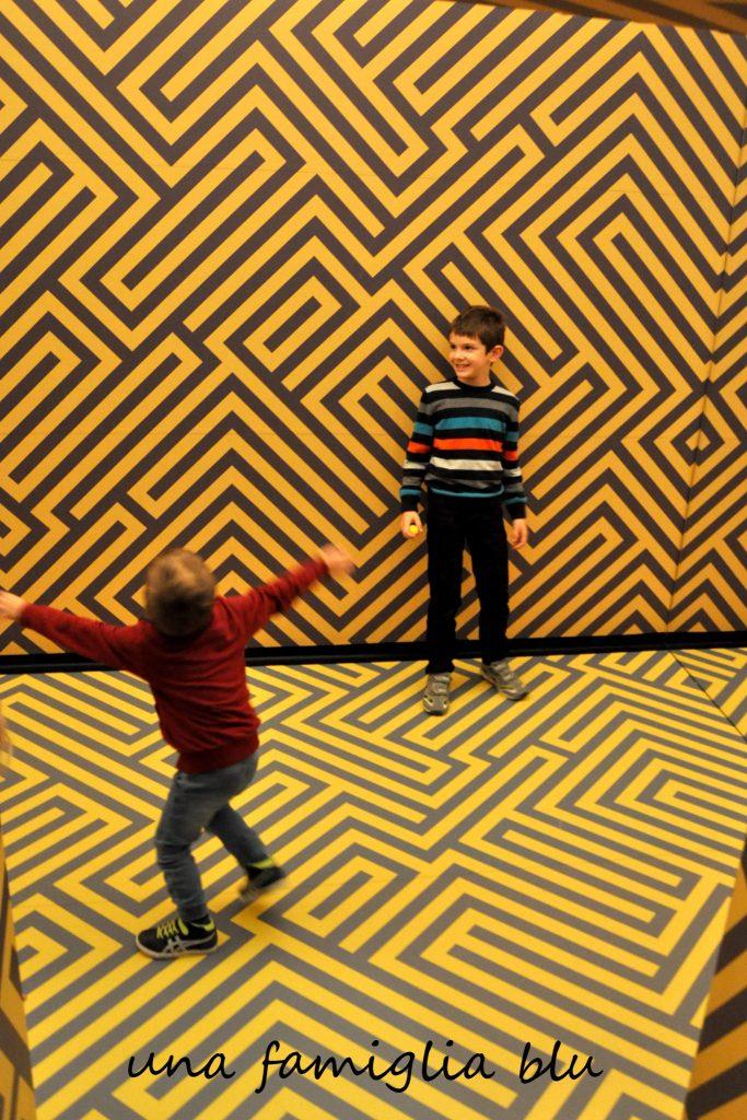 museo delle illusioni di lubiana con bambini