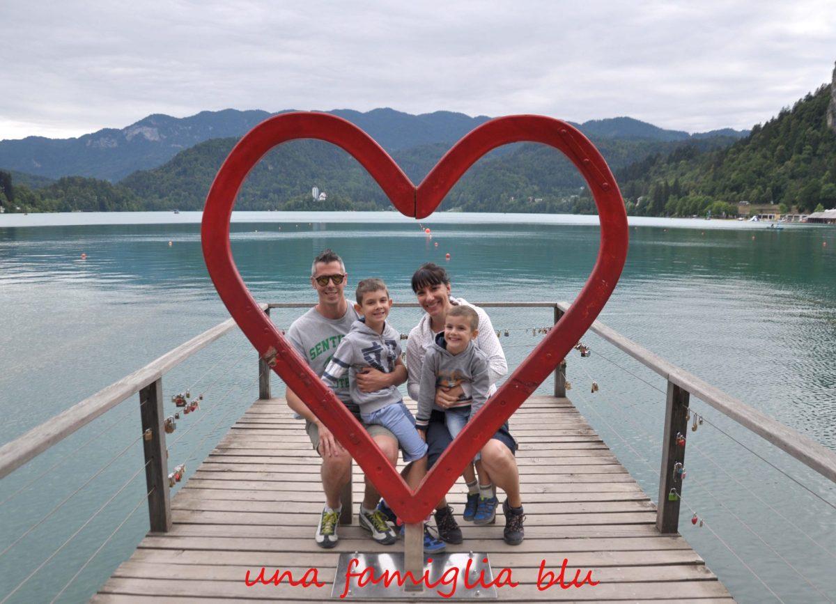Gita al lago di Bled con i bambini