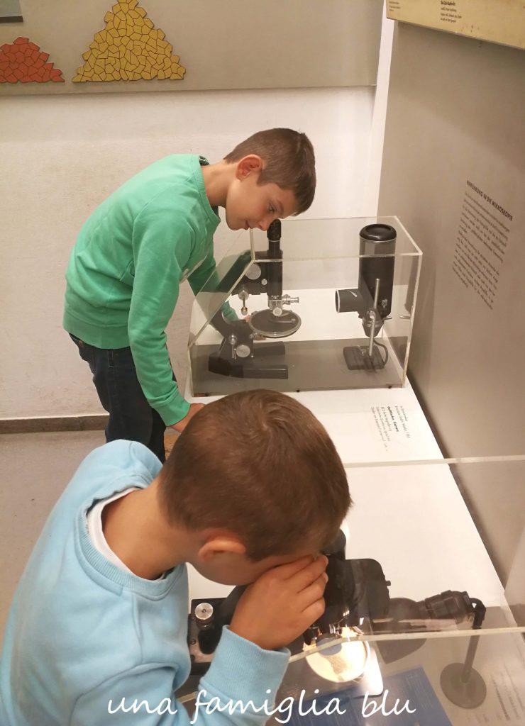 i materiali al iscroscopio al deutsches museum