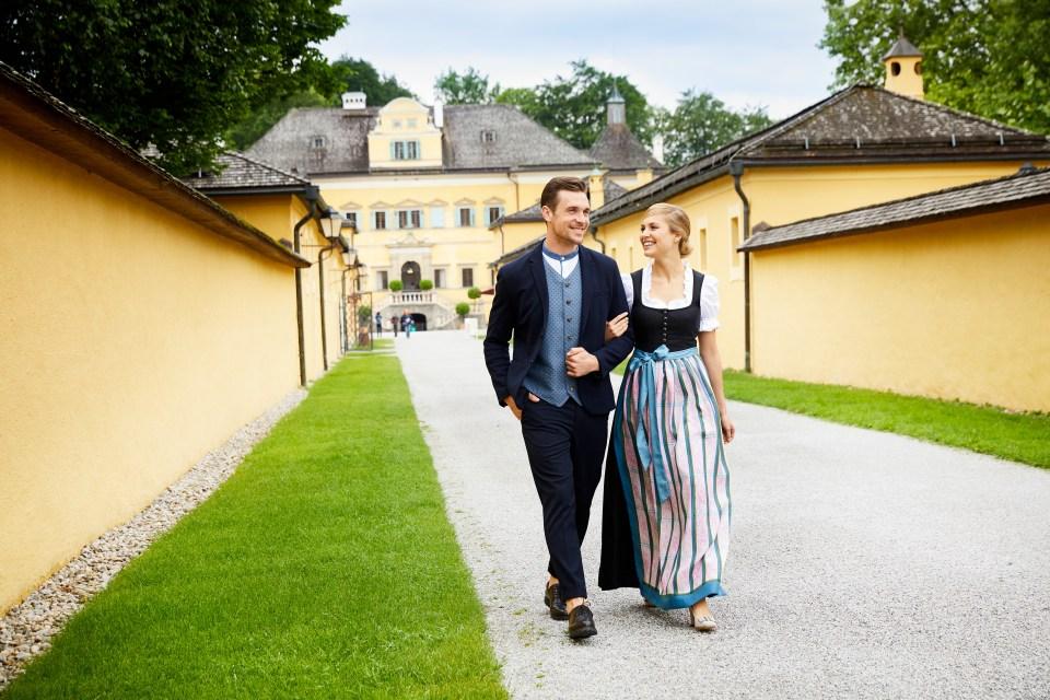 castello Hellbrunn Salisburgo
