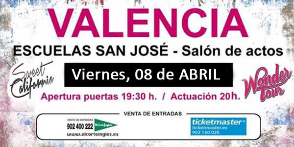 Sweet concierto Valencia