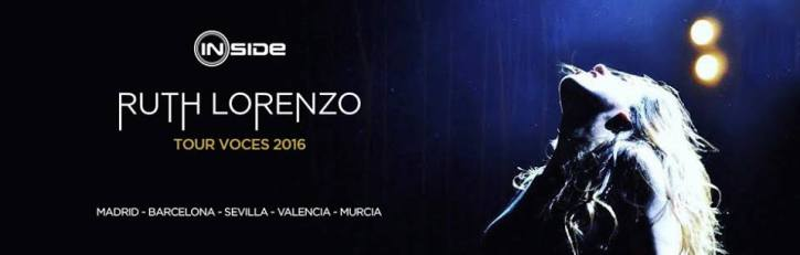 Ruth Lorenzo Tour Voces 2016