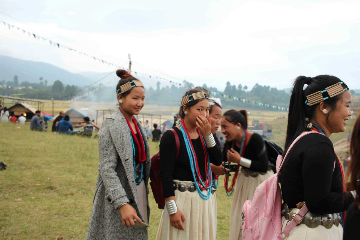 Will I see tattooed tribes in northeast India?
