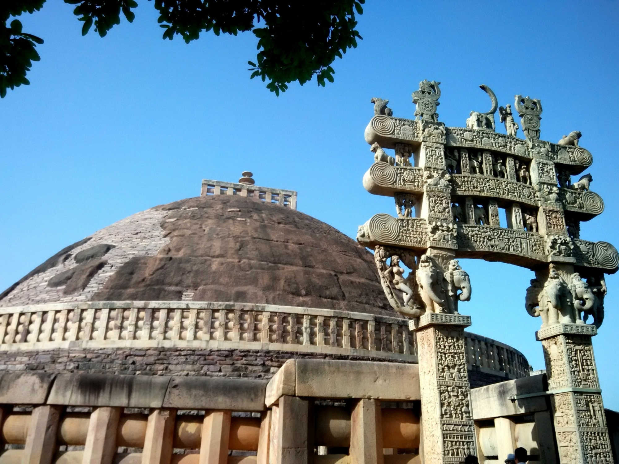 Why should I visit Sanchi in Madhya Pradesh?