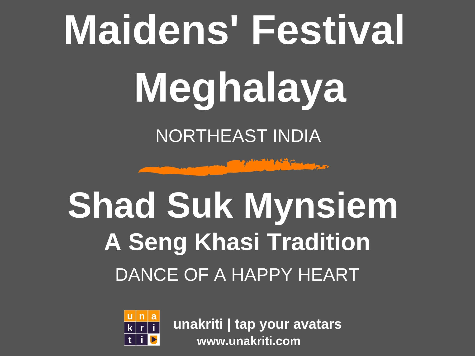 What is the dance of a happy heart in northeast India?