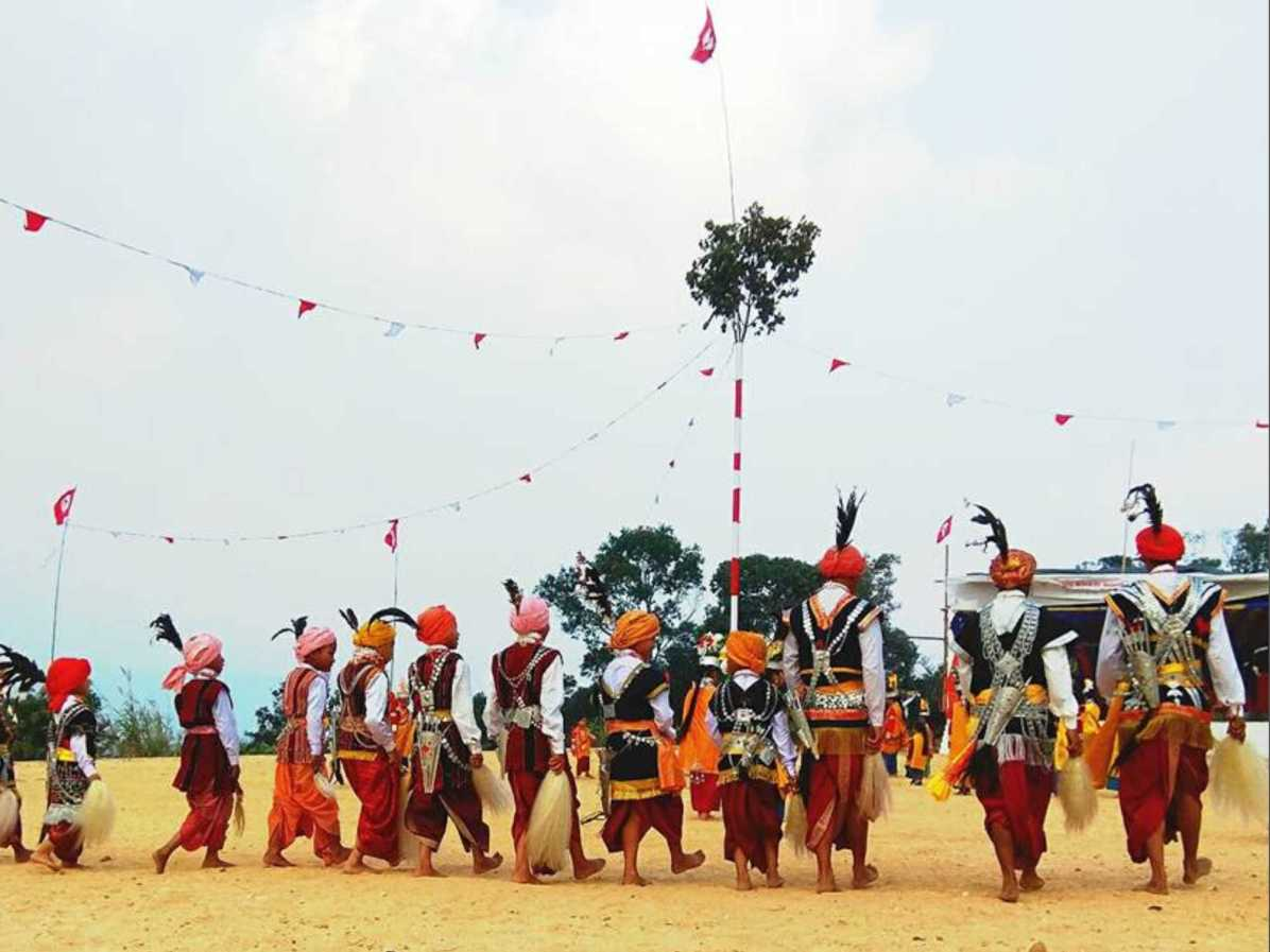What is the venue for maiden festival of Meghalaya, northeast India?