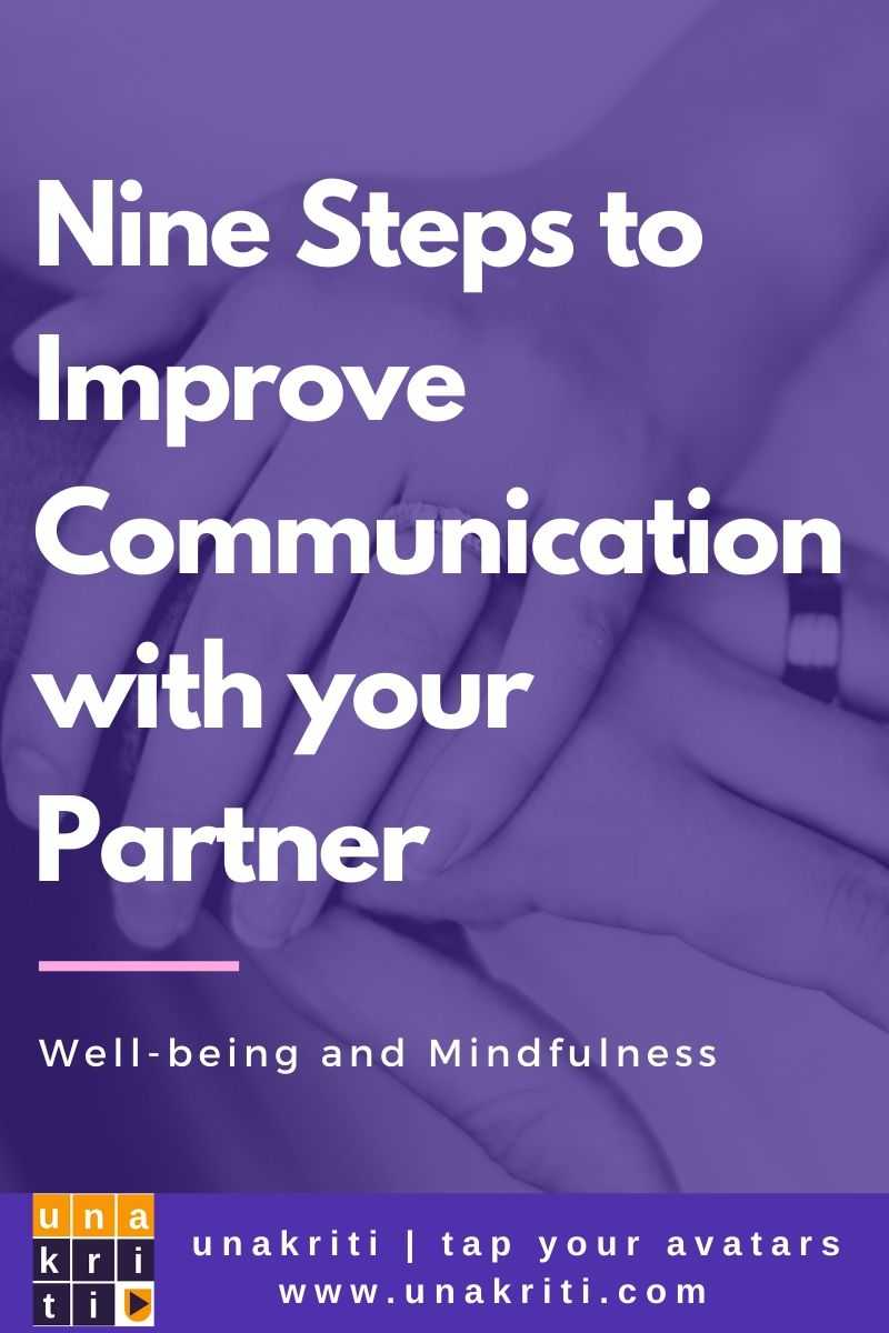 What are important steps to improve communication?