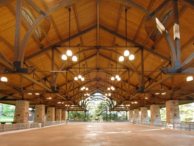 Mohonk Mountain House Ice Skating Pavilion Unalam