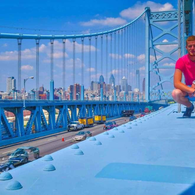 Pont Benjamin Franklin à Philadelphie  - Mon Histoire