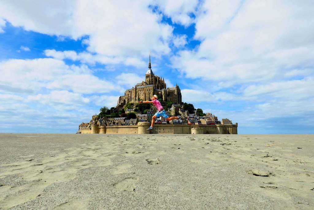 Le Mont-Saint-Michel en Normandie - Un Aller Sans Retour