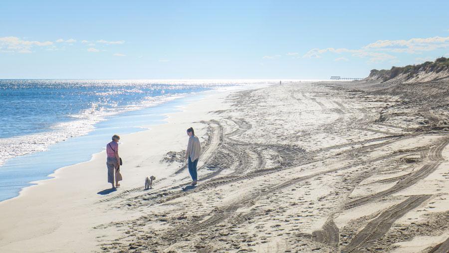 Une des plages d'Adélaïde
