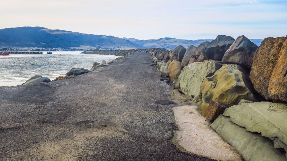 Jetée d'Apollo Bay sur la Great Ocean Road
