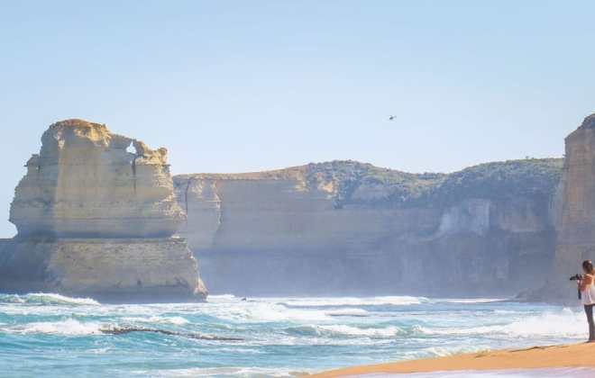 Gibson Steps sur la Great Ocean Road