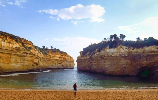 Loch Ard Gorge sur la Great Ocean Road