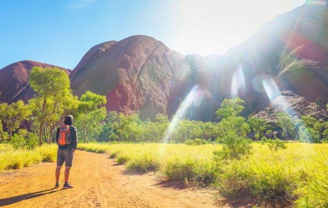Promenade autour d'Uluru