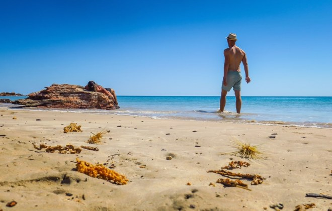 Cable Beach à Broome, Australie-Occidentale