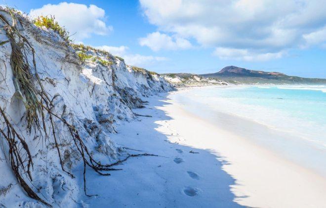 Lucky Bay à Espérance, Australie-Occidentale