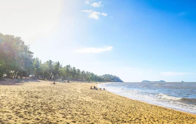 Plage de Trinity Beach à Cairns