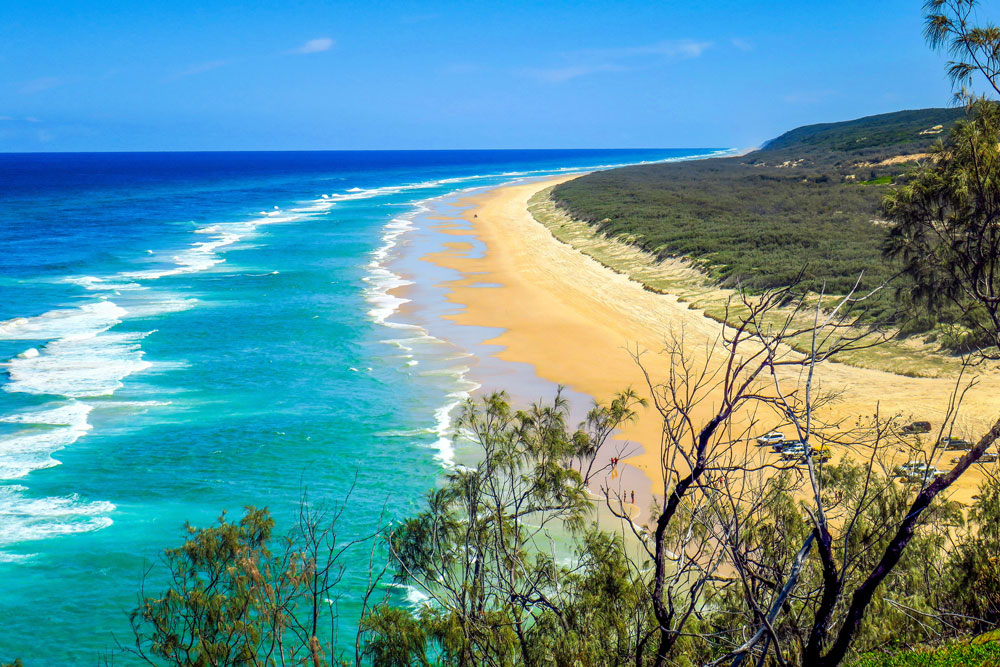 Indian Head à Fraser Island