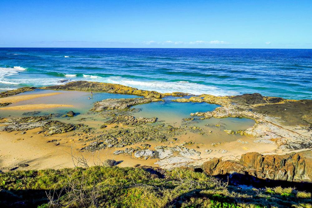 Champagne Pools à Fraser Island