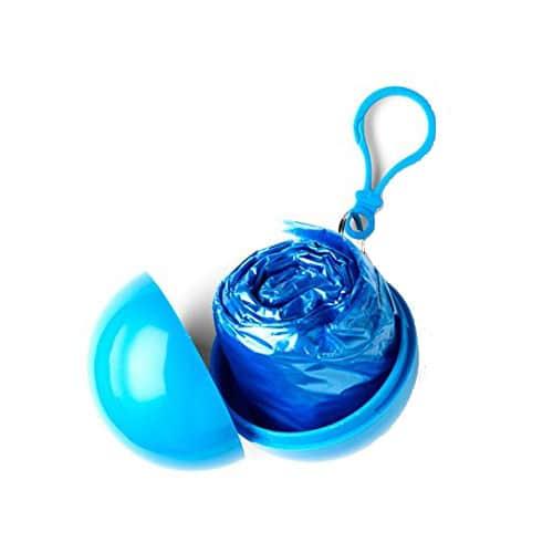Poncho de pluie Siret bleu
