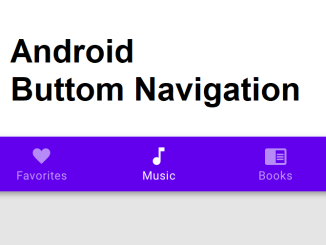 android_bottom_navigation bar