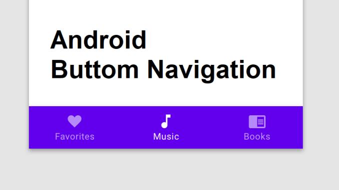 android_bottom_navigation bar