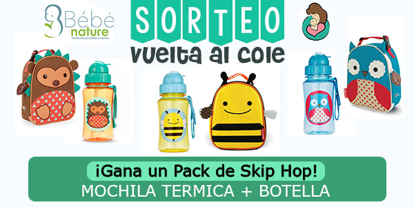 Sorteo La vuelta al cole más molona con Skip Hop Zoo Collection