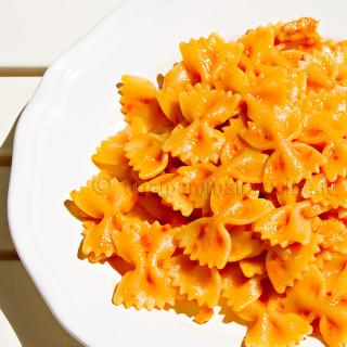Ricetta Pasta con crema di peperoni   Ricetta di Una Mamma In Cucina